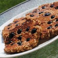 Flourless Oatmeal Blueberry Pancakes Recipe