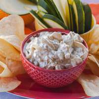 French Onion Dip and Chips Recipe