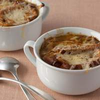 French Three Onion Soup Recipe