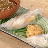 Fresh Crab Springrolls Recipe