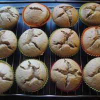 Fresh Ginger Muffins (Gluten and Dairy Free) Recipe