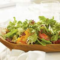 Fresh Lettuces and Heirloom Tomatoes with Chèvre Green Goddess Dressing Recipe