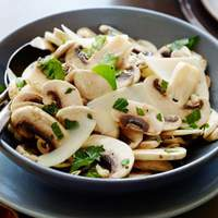 Fresh Mushroom and Parsley Salad Recipe