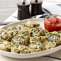 Fresh Pasta Rollatini with Spinach and Ricotta Recipe