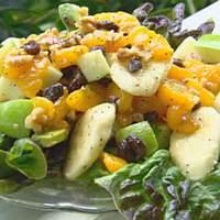 Fruit Salad with Honey Dressing Recipe