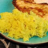 Garlicky Yellow Rice Recipe