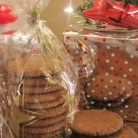 Gingersnap Cookies (Thin & Crispy) Recipe