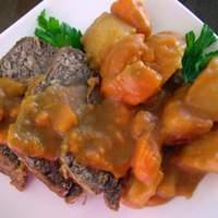 Gingersnap Pot Roast Recipe