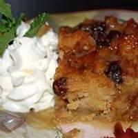 Gramma's Apple Bread Pudding Recipe