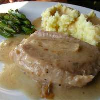 Gravy Baked Pork Chops Recipe