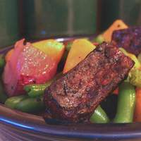 Green Beans With Butternut Squash, Tofu and Maple Syrup Glaze Recipe