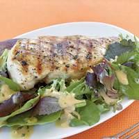 Grilled Chicken with Mustard-Tarragon Sauce Recipe