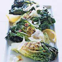 Grilled Lettuces with Manchego Recipe