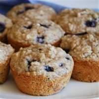 Health Nut Blueberry Muffins Recipe