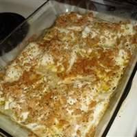 Herb-Crusted Walleye Recipe