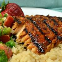 Hoisin-Glazed Salmon Recipe