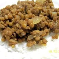 Honey Baked Lentils Recipe