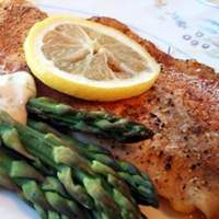 Hudson's Baked Tilapia with Dill Sauce Recipe
