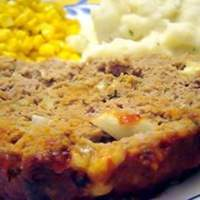 Incredibly Cheesy Turkey Meatloaf Recipe