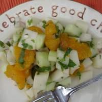 Jicama Salad With Cilantro and Chiles Recipe