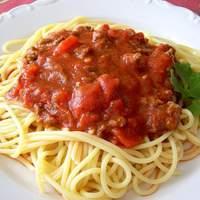 Jo Mama's World Famous Spaghetti Recipe