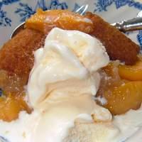 Kelly's Fresh Peach Cobbler Recipe