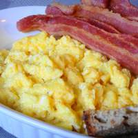 Kittencal's Fluffiest Scrambled Eggs Recipe