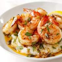 Lemon-Garlic Shrimp and Grits Recipe