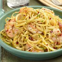 Linguine with Shrimp Scampi Recipe