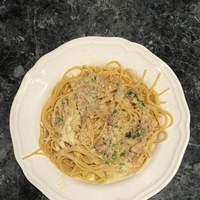 Linguini with White Clam Sauce Recipe