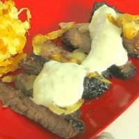 Low Fat Smothered Sirloin Steak-Kraft Foods Recipe