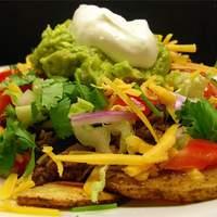 Mexican Potato Nachos Recipe