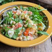 Minted Haloumi Salad Recipe