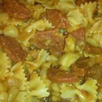 Monica's Potatos With Pepperoni & Pasta #5FIX recipe