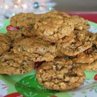 Oatmeal Molasses Drop Cookies Recipe
