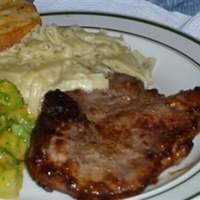 Onion Pan-Fried Pork Chops Recipe