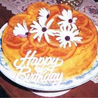 Orange & Almond Cake With Glace Oranges & Syrup Recipe