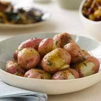Oven Roasted Red Potatoes with Rosemary and Garlic Recipe