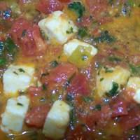 Paneer With Scallions and Tomatoes (Mulayam Paneer Bhurjee) Recipe