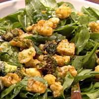 Parmesan Broccoli and Cauliflower Salad Recipe