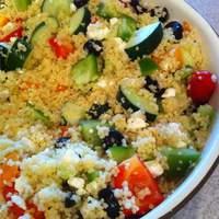 Party-Size Greek Couscous Salad Recipe