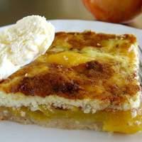 Peach-custard Kuchen Recipe