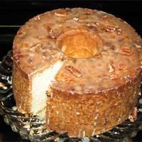 Pecan Sour Cream Pound Cake Recipe