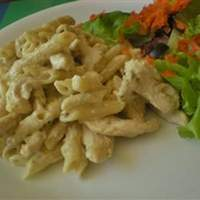 Penne with Chicken and Pesto Recipe