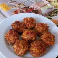Pepperoni Stuffed Mushrooms Recipe