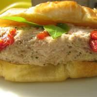 Pesto Tuna Salad with Sun-Dried Tomatoes Recipe