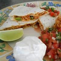 Pico de Gallo Chicken Quesadillas Recipe