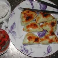 Pierogies Crostini, With Two Toppings Recipe