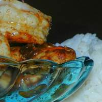 Poached Prawns/Shrimp With Chilli Limes and Sugar Recipe
