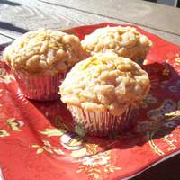 Pumpkin Muffins With Crumble Topping (G/F) recipe